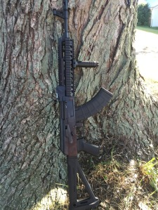 100% American made AK variant, it has no foreign parts whatsoever.