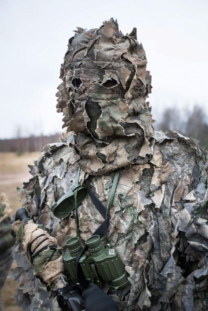 Finnish defense forces sniper