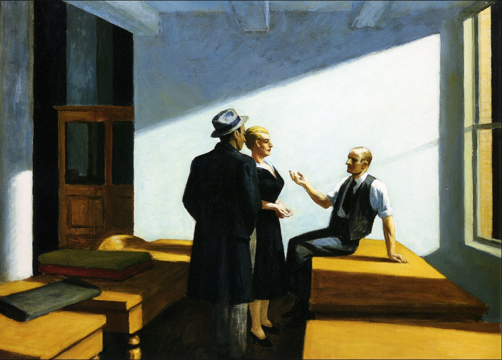 EdwardHopper-ConferenceAtNight-1949