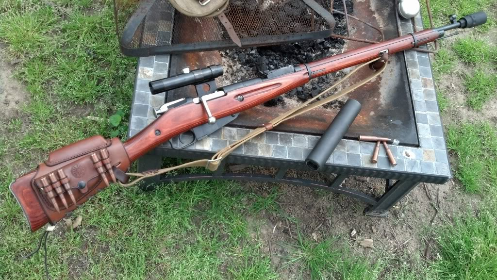 custom Mosin Nagant 91-30 sniper rifle