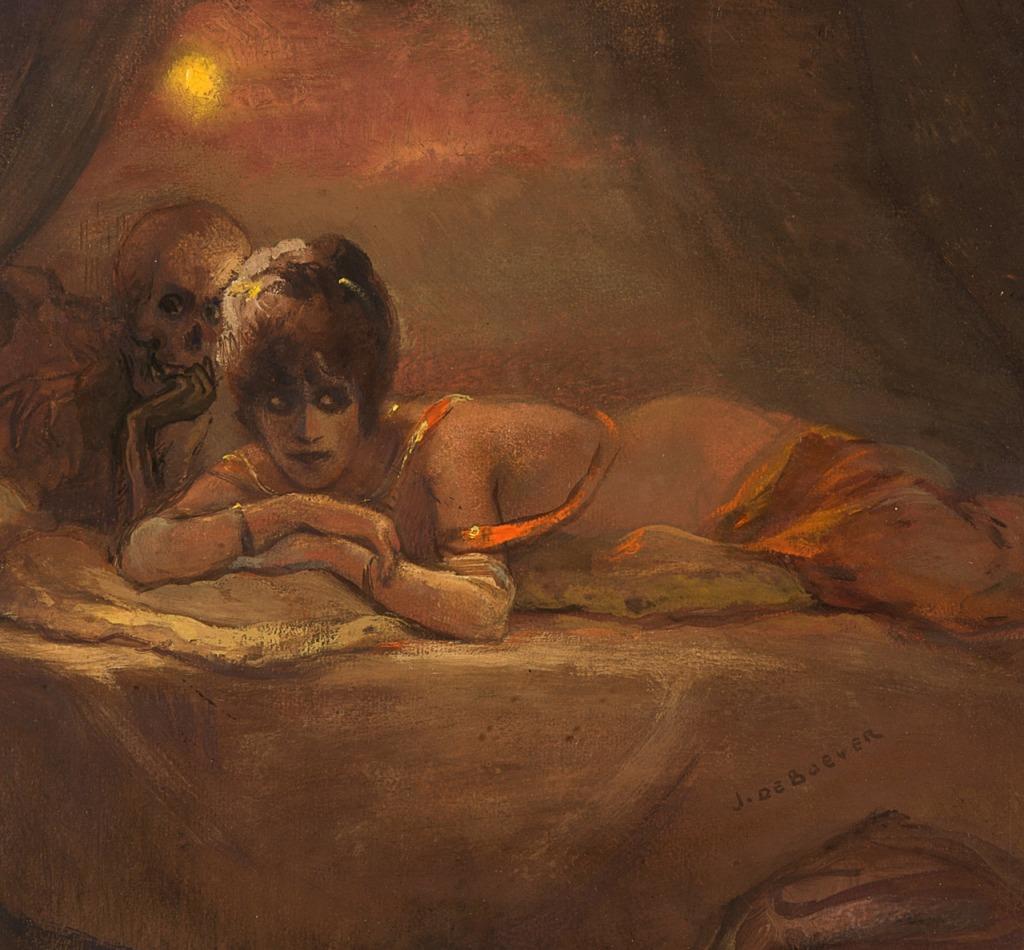 Jan Frans De Boever (1872 - 1949) - Le festin, 1920