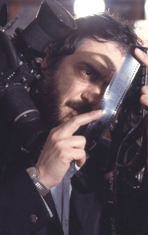 "Kubrick on the set of ""2001- A Space Odyssey""-2"