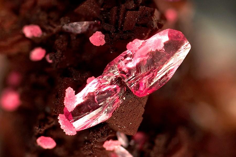 Roselite,Aghbar Mine,Morocco